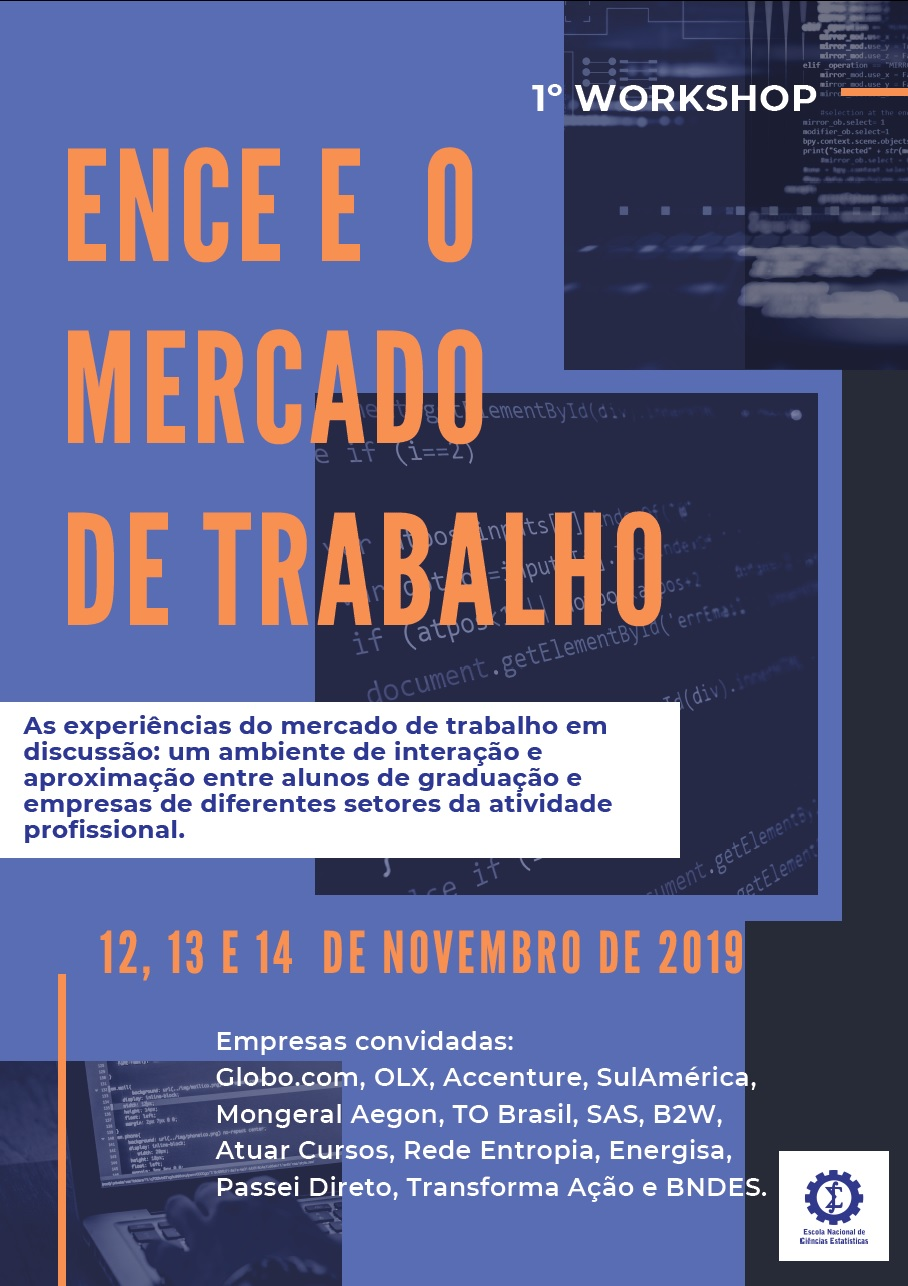 cartaz workshop ENCE mercado